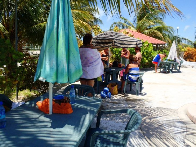 Aquafit Classes San Pedro Fitness Club Ambergris Caye Belize